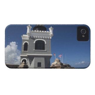 Puerto Rico, San Juan, San Juan viejo, EL Morro iPhone 4 Case-Mate Cárcasa