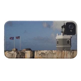Puerto Rico, San Juan, San Juan viejo, San Felipe iPhone 4 Case-Mate Cárcasas