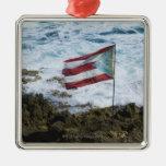 Puerto Rico, San Juan viejo, bandera del arroz de Adorno De Reyes