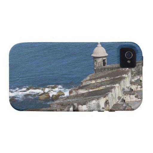 Puerto Rico, San Juan viejo, sección del EL Morro iPhone 4/4S Carcasa