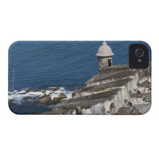 Puerto Rico, San Juan viejo, sección del EL Morro iPhone 4 Funda