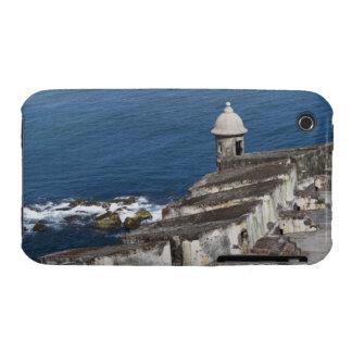 Puerto Rico, San Juan viejo, sección del EL Morro Case-Mate iPhone 3 Carcasas