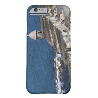 Puerto Rico, San Juan viejo, sección del EL Morro Funda De iPhone 6 Barely There