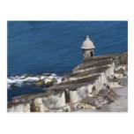 Puerto Rico, San Juan viejo, sección del EL Morro Tarjetas Postales