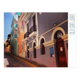 Puerto Rico: San Juan viejo Tarjeta Postal