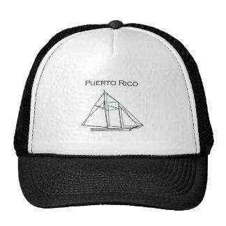 Puerto Rico (Schooner Sailboat) Hat