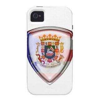 Puerto Rico - Seal on Shield Vibe iPhone 4 Case