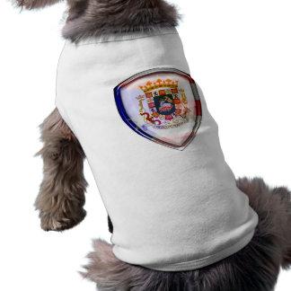 Puerto Rico - Seal on Shield Dog Clothing