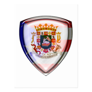Puerto Rico - Seal on Shield Post Cards