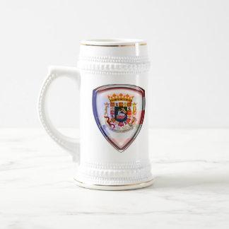 Puerto Rico - sello en el escudo Jarra De Cerveza