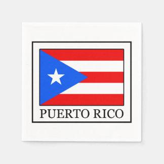 Puerto Rico Servilleta De Papel