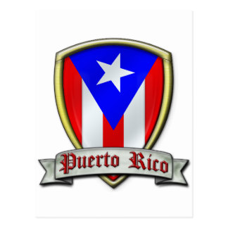 Puerto Rico - Shield2 Post Cards
