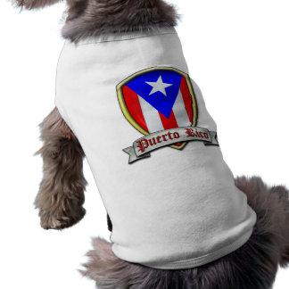 Puerto Rico - Shield2 Ropa Perro