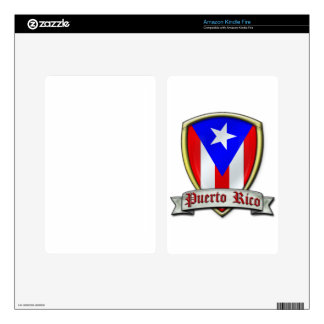 Puerto Rico - Shield2 Kindle Fire Skins