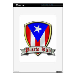 Puerto Rico - Shield2 Skins For iPad