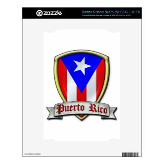 Puerto Rico - Shield2 Skin For NOOK