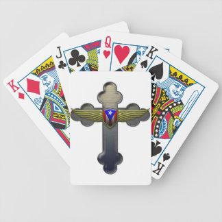 Puerto Rico - Shield & Cross Card Deck