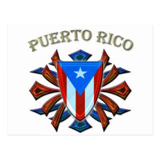 Puerto Rico - Shield Postcards