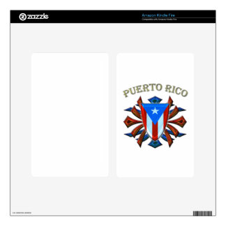 Puerto Rico - Shield Skin For Kindle Fire