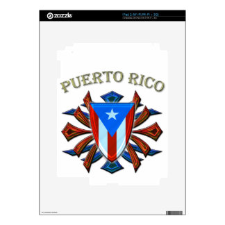 Puerto Rico - Shield Decals For iPad 2