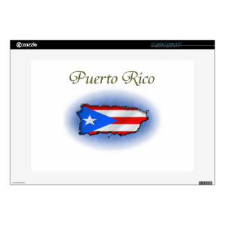 "Puerto Rico 15"" Laptop Decal"