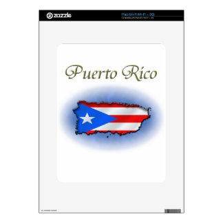 Puerto Rico Decals For The iPad