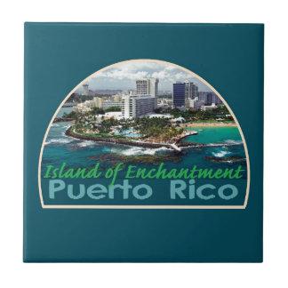 PUERTO RICO Square Tile