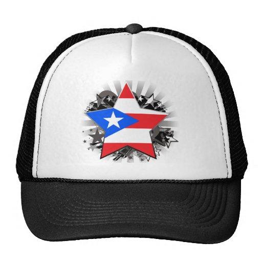Puerto Rico Star Hats