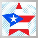 Puerto+Rico Star Print