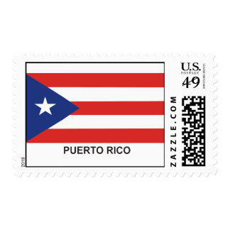 PUERTO RICO State Flag Stamp