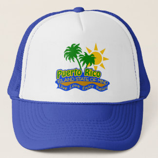 Puerto Rico State of Mind hat