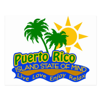 Puerto Rico State of Mind postcard