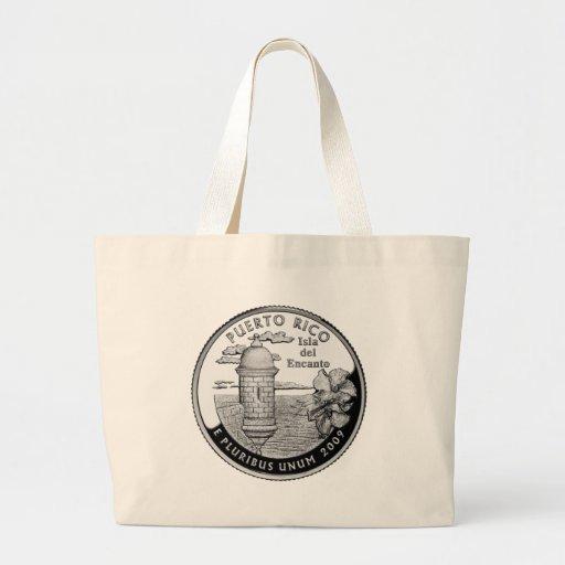 Puerto Rico state quarter Bag