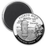 Puerto Rico state quarter Magnet