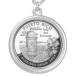 Puerto Rico state quarter Custom Jewelry