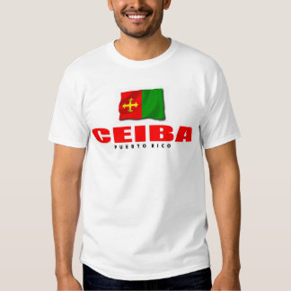Puerto Rico t-shirt: Ceiba T Shirt