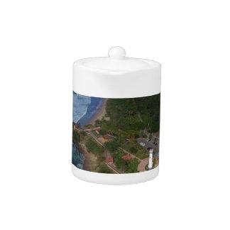 Puerto Rico Teapot