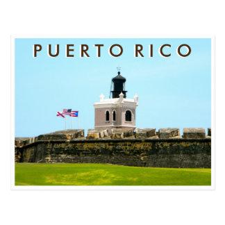 Puerto Rico: Tower at El Morro Postcard
