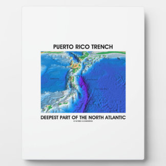 Puerto Rico Trench Deepest Part Of North Atlantic Plaque