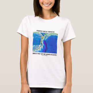 Puerto Rico Trench Deepest Part Of The N. Atlantic T-Shirt