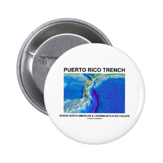 Puerto Rico Trench Where North American Caribbean Button