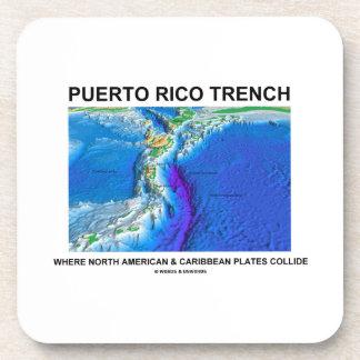 Puerto Rico Trench Where North American Caribbean Coaster