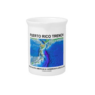 Puerto Rico Trench Where North American Caribbean Drink Pitchers