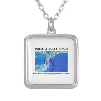 Puerto Rico Trench Where North American Caribbean Pendants