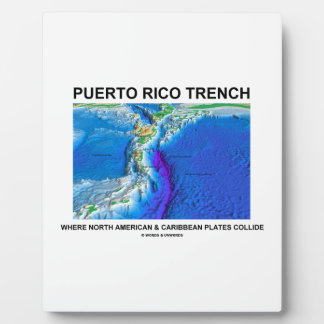 Puerto Rico Trench Where North American Caribbean Plaque