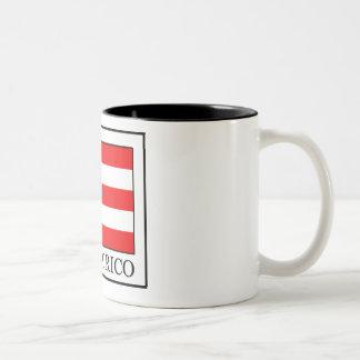 Puerto Rico Two-Tone Coffee Mug