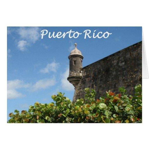 Puerto Rico View Greeting Card