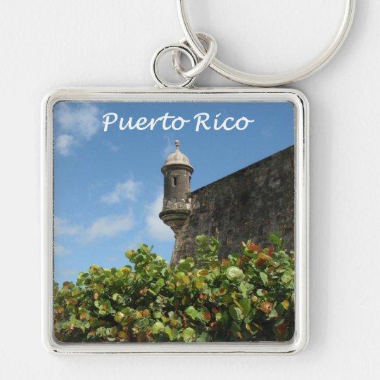Puerto Rico View Keychain