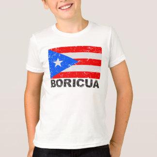 Puerto Rico Vintage Flag Boricua T-Shirt
