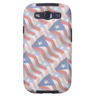 Puerto Rico Waving Flag Galaxy SIII Cases